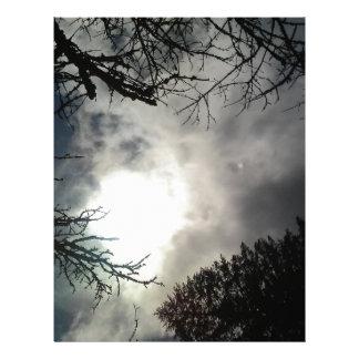 Love the sky letterhead