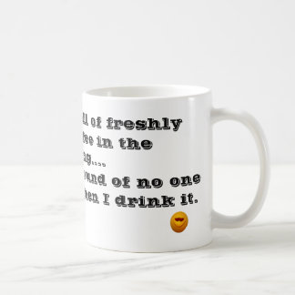 Love the Smell of Coffee in the morning Coffee Mug