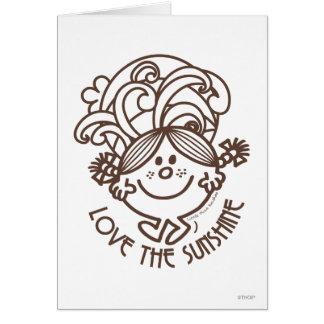 Love The Sunshine | Swirls Card