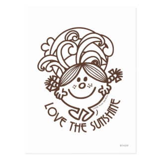 Love The Sunshine | Swirls Postcard
