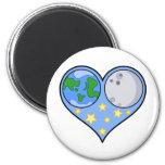 Love the Universe Refrigerator Magnet