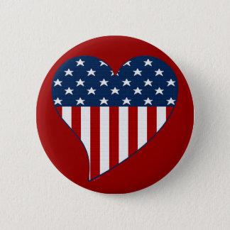 Love the USA 2 Inch Round Button