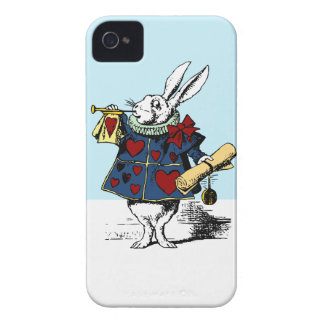 Love the White Rabbit Alice in Wonderland iPhone 4 Case-Mate Cases