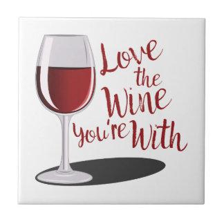 Love The Wine Tile