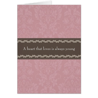 Love Themed Greetings Card