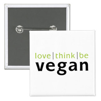 love think be pinback button