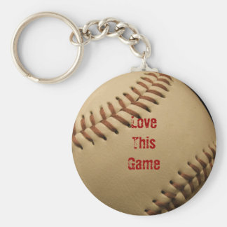 Love This Game Keychain