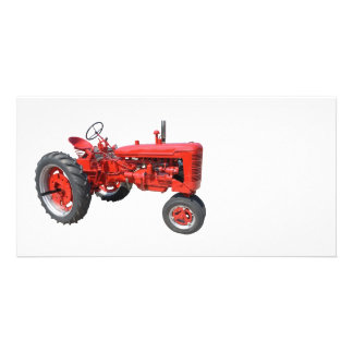 LOVE THOSE OLD RED TRACTORS CARD