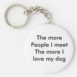 love thou pet keychain