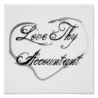Love Thy Accountant Poster