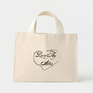 Love Thy Actor Mini Tote Bag