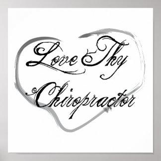 Love Thy Chiropractor Poster