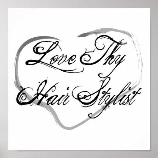 Love Thy Hair Stylist Print