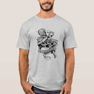 Love Thy Neighbor (tattoo design) T-Shirt