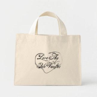 Love Thy Pole Vaulter Mini Tote Bag