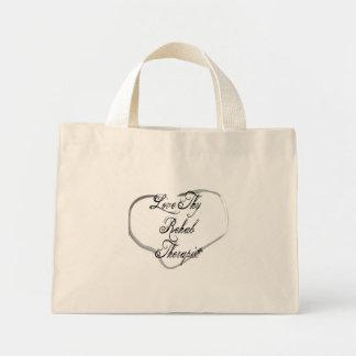 Love Thy Rehab Therapist Mini Tote Bag