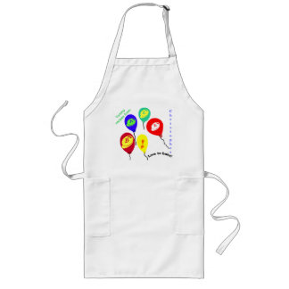 Love to Bake Candy Bits Balloons Apron Personalize