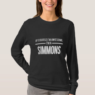 Love To Be SIMMONS T-shirt