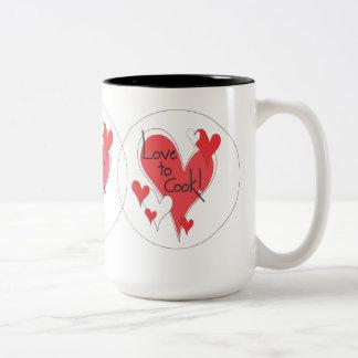 Love to Cook! mug