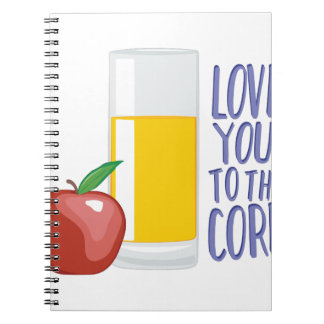 Love To Core Notebook
