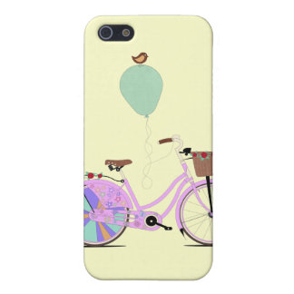 Love to Cycle on my Pink Bike by Andy Scullion iPhone 5 Covers