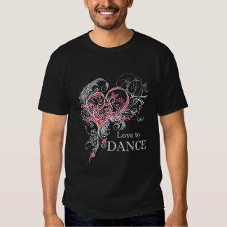 Love to Dance Dark T-shirt (customizable)