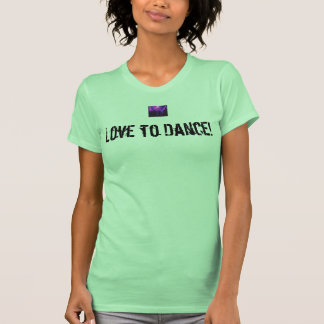 Love to Dance heavyweight tank w/Dance Party logo