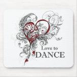 Love to Dance Mousepad