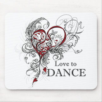 Love to Dance Mousepad