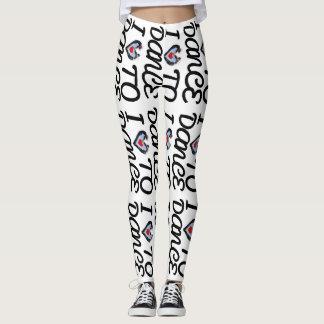 Love To Dance Yoga Gym Exercise Leggings Pants