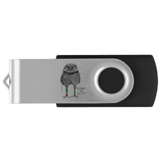 Love to knit USB flash drive