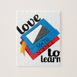 Love To Learn Jigsaw Puzzle