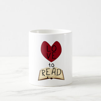 Love to Read Coffee Mug