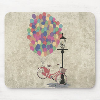 Love to Ride my Bike with Balloons even if it's no Mouse Pad