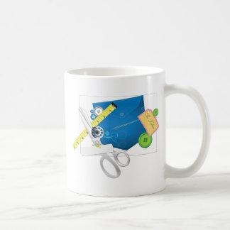 Love To Sew & Sew It Goes Classic White Coffee Mug