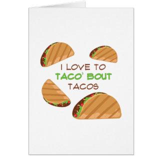 Love To Taco Card