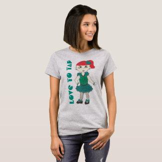 Love to Tap Dance Teacher Tapdance Girl Recital T-Shirt