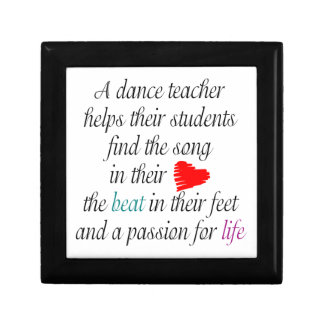 Love to Teach Dance Gift Box