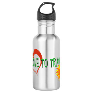Love to Travel 532 Ml Water Bottle