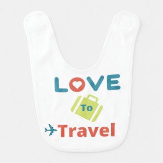 Love to Travel baby & toddler Bib