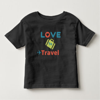 Love to travel tee - Customize to any size