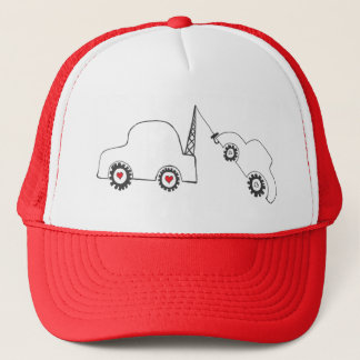 Love Tow Trucker Hat