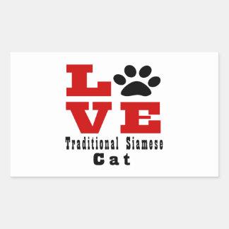 Love Traditional Siamese Cat Designes