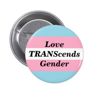 Love TRANScends Gender Button