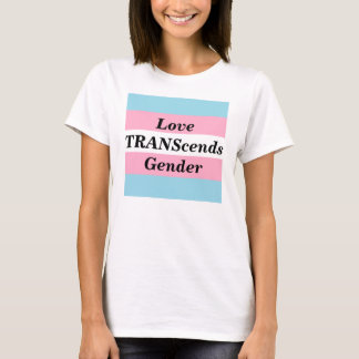 Love TRANScends Gender Female T-Shirt