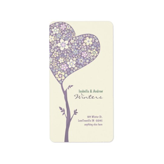 LOVE TREE Address Label