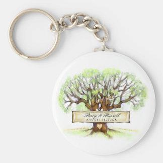 Love Tree Custom Wedding Key Chains