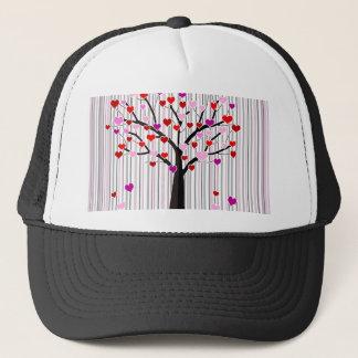Love tree trucker hat