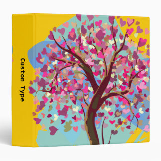 Love Tree Vinyl Binder