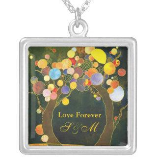 """Love Trees"" Wedding Keepsake Promise Necklace"